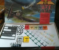 Battle of Britain Board Game Parts : Dice, planes, mission cards etc. RAF TSR