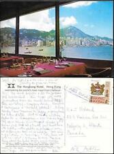 Hong Kong view from Hong Kong Hotel old Ppc 1978. China