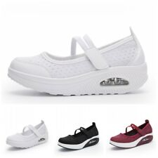 35-42 Womens Nurse Mom Shoes Anti-Slip Comfy Work Casual Trainers Loafers Soft L