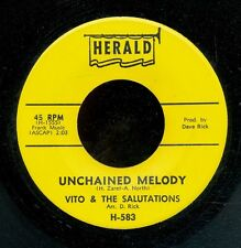 45bs-R&B vocal group- HERALD 583-Vito & the Salutations