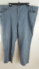 Gloria Vanderbilt Gray Jeans Amanda Straight Leg Stretch Plus size 22w