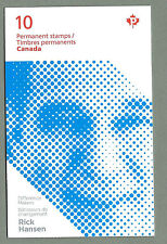 CANADA 2012 - Folded Booklet - RICK HANSEN   - 10 x Permanent - Complete - MNH