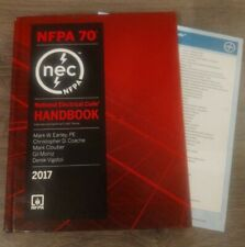 New ListingNfpa 70 National Electrical Code, Nec, Handbook (Hardcover) 2017 Edition w/ Tabs