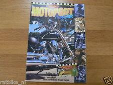 MOTOPORT 199901 TONNY ENGBERS,YAMAHA TDM 850,BOLLENSTREEK,HONDA CBR600F,