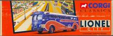 CORGI BUS 53904 YELLOW COACH 743 LIONEL CITY BUS LINES
