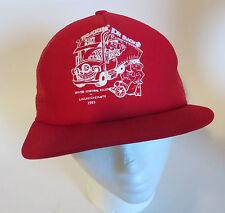 Vtg Trucker Mesh Back Snapback Cap Hat Truckin' For Bucks Cp 1993 Made in Usa