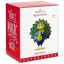 Born This Way Peacock 2017 Hallmark Magic Ornament  Music  Lady Gaga  In Stock