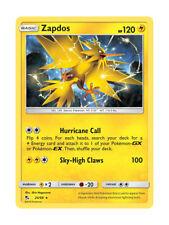 Zapdos 24/68 Rare Holo Pokemon Card TCG - Hidden Fates Shiny Vault - New