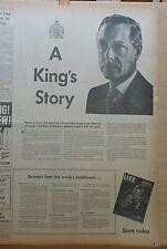1950 newspaper ad for Life Magazine Duke of Windsor Memoirs - Edward VIII
