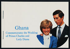Ghana 764a imperf Booklet MNH Prince Charles, Princess Diana Wedding