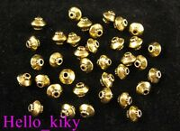 250 pcs Antiqued gold plt lantern spacer beads A256