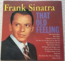 RARE NEAR MINT Frank Sinatra 'That Old Feeling' (CBS/Sony ‎20AP 1449) JAPAN 1982