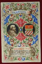 "PAPA URBANO VII POPE URBANUS VII  postcard illustrata viaggiata ""900 f/p #2784"
