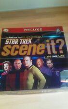 Deluxe Star Trek Scene It? Interactive DVD Board Game New & Sealed Family Fun