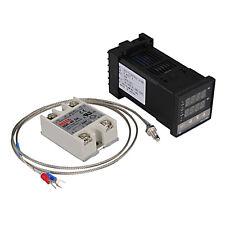 REX-C100 110-240V Digital PID Temperature Controller Kit USA SELLER