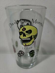 Newbury Comics Dia de los muertos 2009 Limited Edition Pint Glass