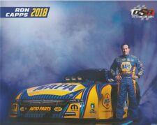 2018 Ron Capps Napa Auto Parts Dodge Charger Funny Car NHRA postcard