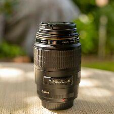 Canon EF 100 mm f/2.8 USM Macro Obiettivo
