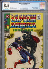 Tales of Suspense #98 (Marvel 1968) CGC Certified 8.5 White Pages