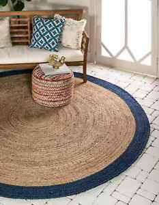 Natural and Attractive Jute Rug Country Cabin Lodge Rustic