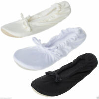 Womens Slippers Ballet Flats Comfort Wedding Bridal Bridesmaids Shoes Size