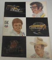USAC Magazine AJ Foyt & Mark Donohue 1972 072214R