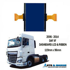 DAF XF DASHBOARD LCD DISPLAY & RIBBON EURO 3 to EURO 6 ... NEW ... 2006 to 2014