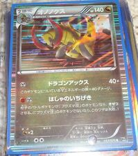 Pokemon Card/Tarjeta/Karte Holographic Haxorus(Japanese) Black/White Series #9