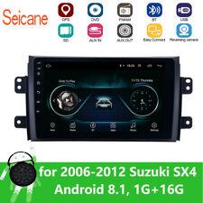 "9"" Android 8.1 For 2006-2012 Suzuki SX4 2Din Car Radio GPS Navigation Multimedia"
