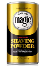 Magic Fragrant Shaving Powder Stops Razor Bumps Shave 4.5 oz
