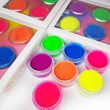 7 Pieces Pigment Powder Matte Eye Shadow Palette Cosmetic Makeup Neon Color Set