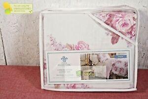 Simply Shabby Chic- Cactus Rosebloom Duvet & Sham Set Pink Blush, Twin
