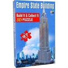 Empire State Building 3D puzzle 97 pieces Sealed Rated 4 in Difficulty Go Games