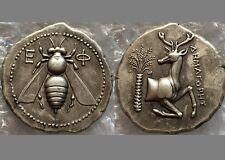 Souvenir Medal Paperweight Ancient Greek Roman IONIA Ephesos. Circa 390-325 BC
