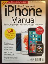 Complete iPhone Manual Apple Watch Secure Setup Vol 13 Winter 2016 FREE SHIPPING