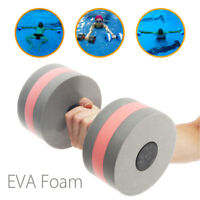 Water Pool Weight Aerobics Medium EVA Dumbbell Aquatic Barbell Fitness Exercise