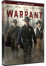 THE WARRANT New Sealed DVD Neal McDonough Annabeth Gish Casper Van Dien