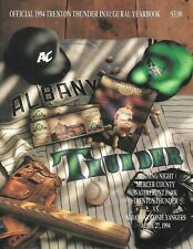 1994 Official TRENTON THUNDER INAUGURAL YEARBOOK  vs Albany-Colonie Yankees