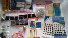 Hand Sewing Lot  Needles, Velcro, Thimble  Pins Buttons and Sew on Snaps