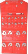 Mitutoyo 25 Pc 164 To 12 Radius Stainless Steel Radius Gage Set