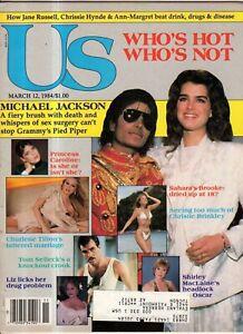 1984 US March 12-Michael Jackson; Brooke Shields; Ann-Margret; Christie Brinkley