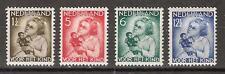 NVPH Netherlands Nederland 270 271 272 273 ong MLH 1934 kinderzegels Pays Bas