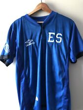Umbro El Salvador Jersey National Team Soccer Futbol Shirt Kit Home Blue Medium