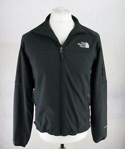 Mens NORTH FACE TNF Apex Jacket Size SMALL Windbreaker High neck Black Full Zip