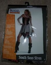 NEW South Seas Siren Costume Women Ladies Adult Costume XL X-Large NEW NWT