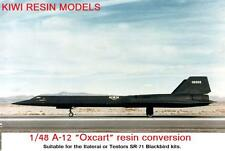 1/48 Lockheed A-12 Oxcart conversion for the Italerai kit