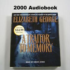 Inspector Lynley: A Traitor to Memory by Elizabeth George 2001 Audiobook CDs