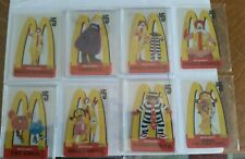 1996 McDonald's Five Dollar Phone Cards Eight Different Acetate Cards