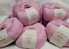 Rowan Fine Lace 80% baby suri Alpaca 20% fine Merino wool 50g Ball Charity Pink