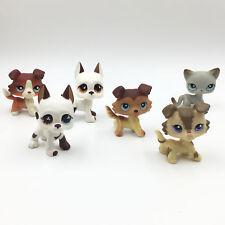 6×Littlest Pet Shop GREAT DANE COLLIE CAT LPS toy #750 #577 #58 #2210 #1542 #391